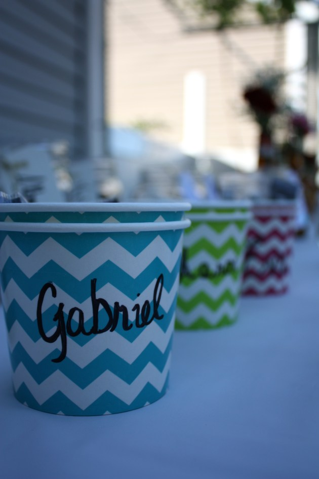 Simple Outdoor Graduation Party