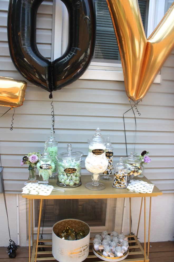 Crafting a Candy Buffet