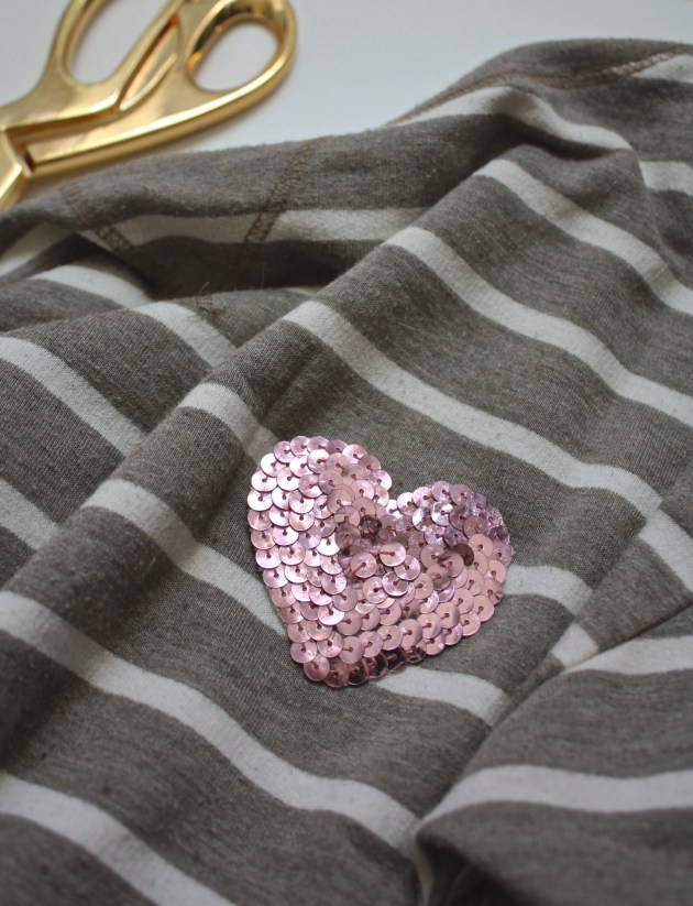Sequin Applique How To