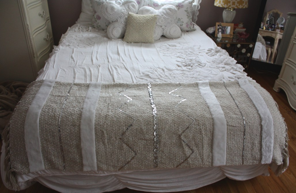 How To: Moroccan Inspired Wedding Blanket