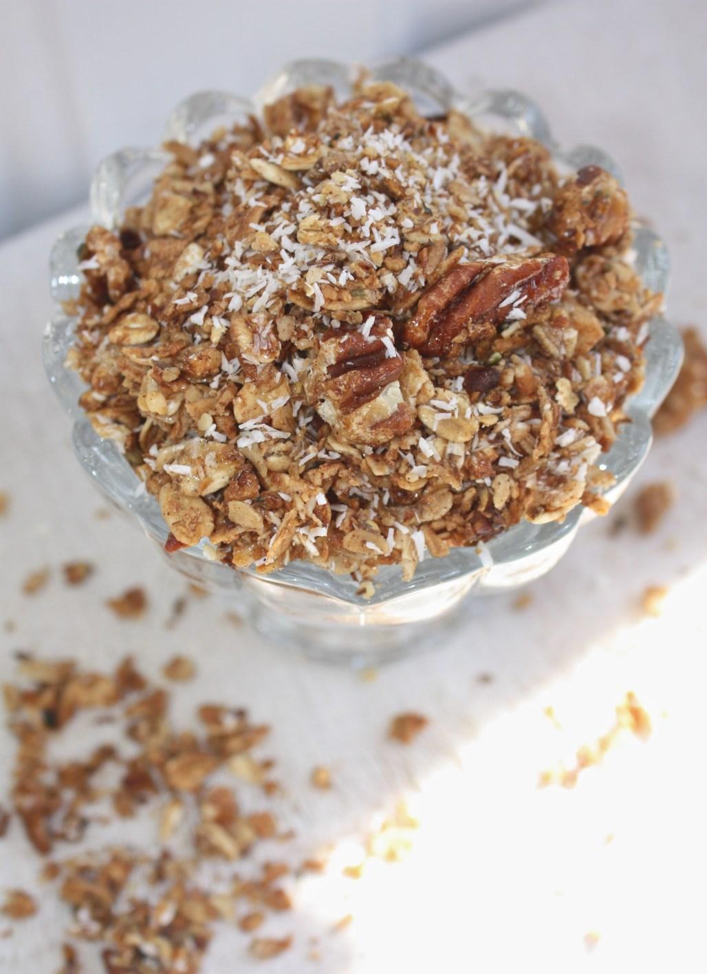 Pecan + Coconut Granola