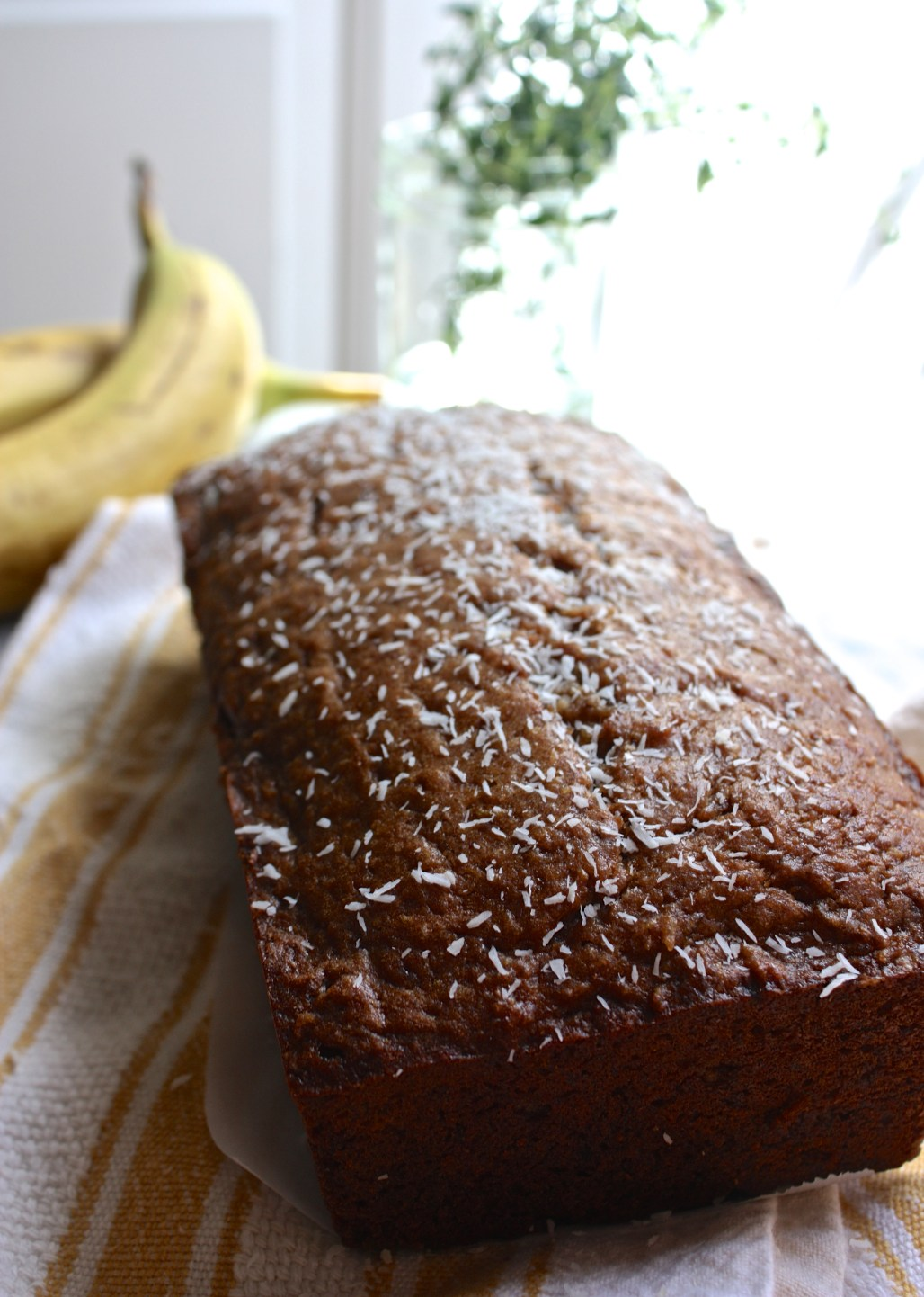 Whiskey Banana Bread with Coconut | Dreamery Events