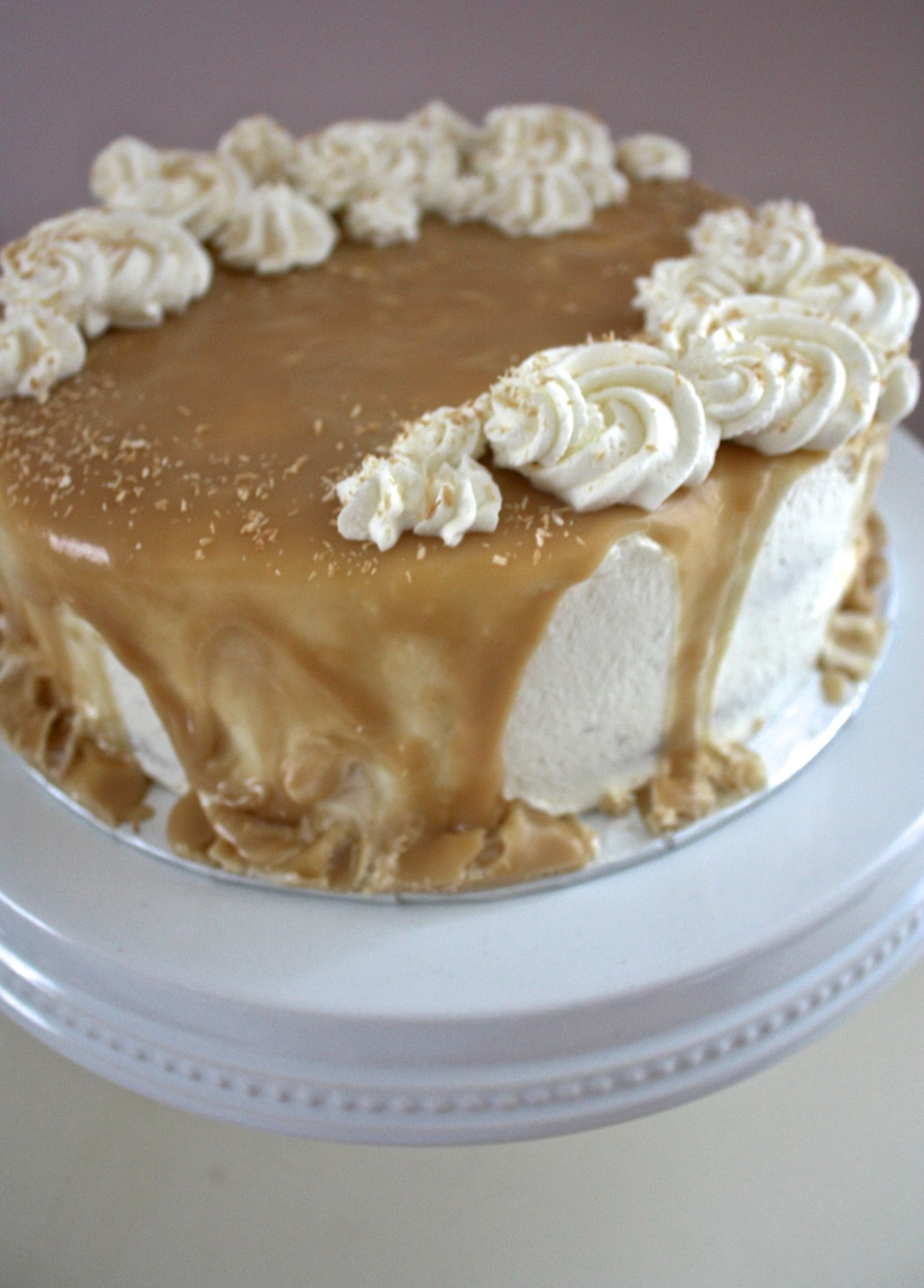 Tres Leches Cake with Caramel Glaze | Dreamery Events