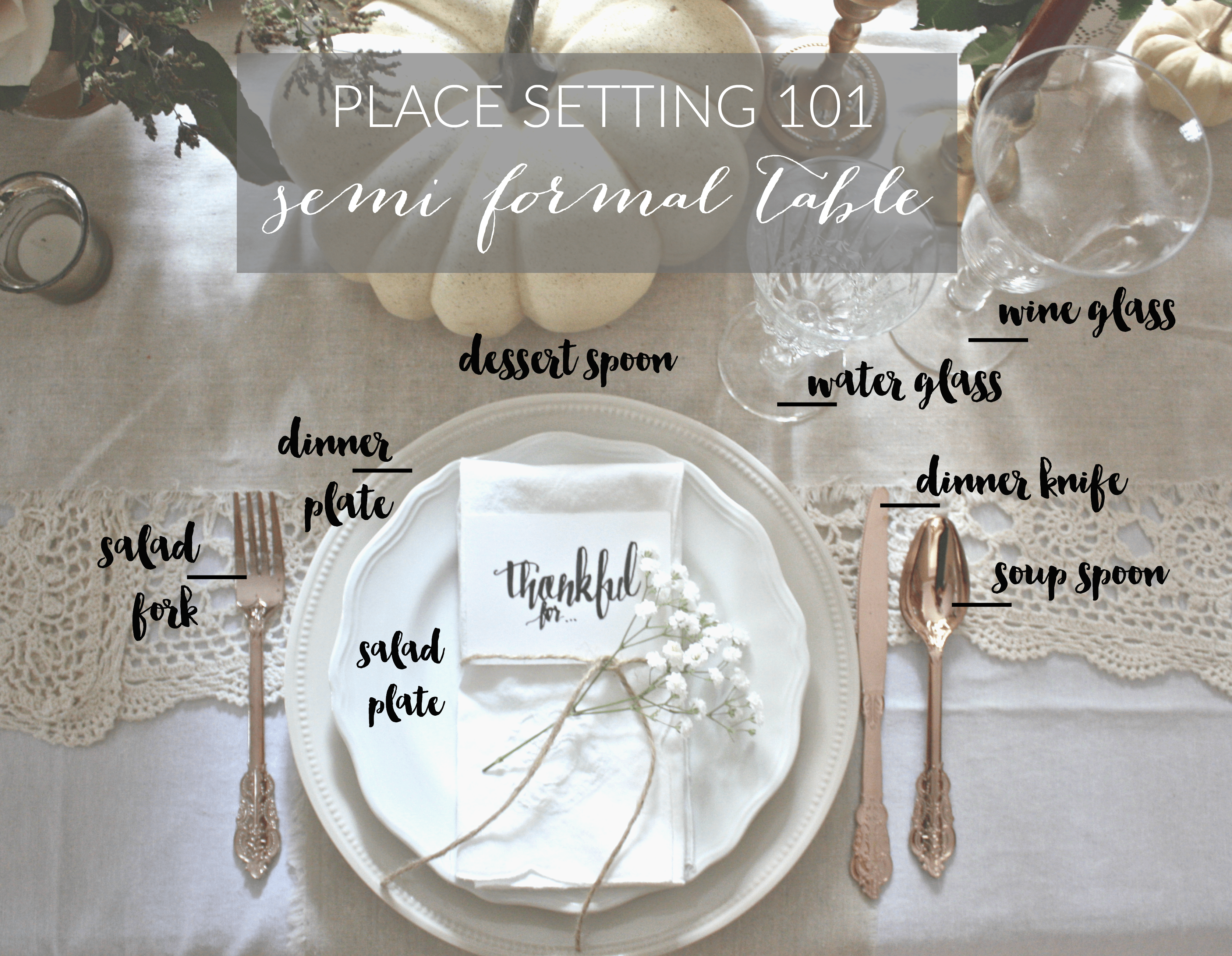 Formal Table Setting Part - 41: Dreamery Events