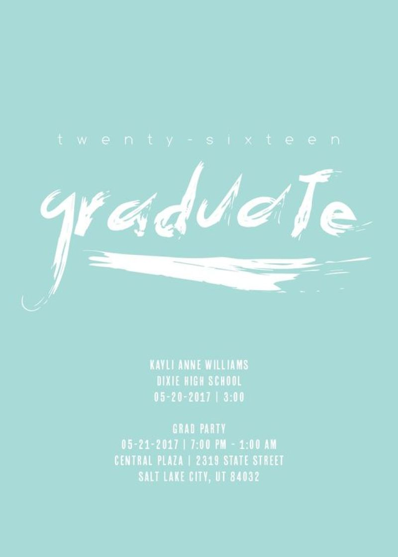Graduation Stationery from Basic Invite | Dreamery Events