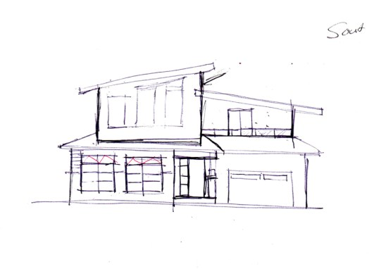Refined sketch by KW Design