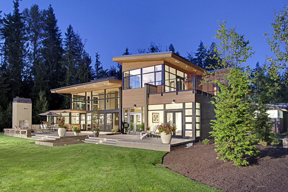 Photo: Contemporary Exterior Concept. McClellan Architects