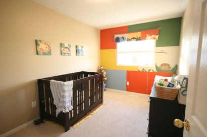 Kash's room and mural