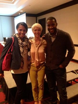 Karen Bertelsen with The Dreamhouse Project at BlogPodium