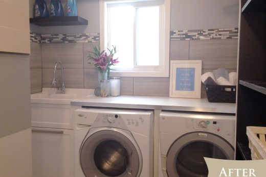 Laundry room - after
