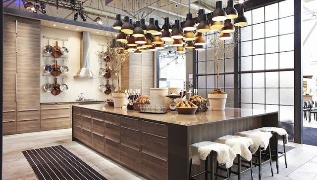 IKEA kitchen display at IDS 2013