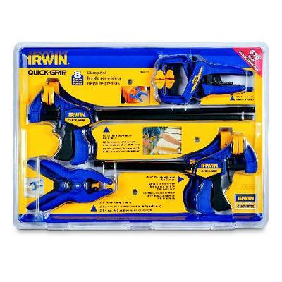 Irwin 8 pc Clamp set