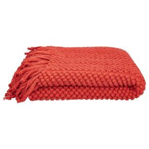 knit throw blannket