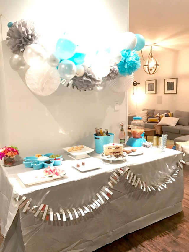 The aftermath: Year of Feasting - Simple 70th Birthday Celebration