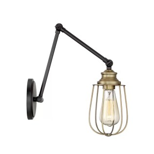 Burrell 1-Light Swing Arm via Wayfair