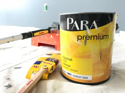 PARA Premium paint offers fantastic coverage