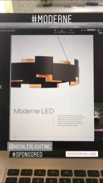 Kichler Moderne 2 Light LED Chandelier/Pendant OZ