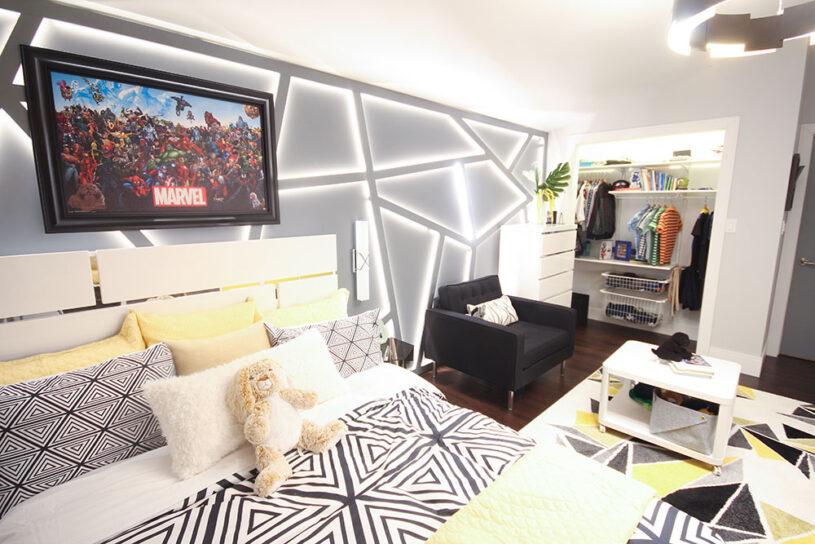 Kash's Modern Marvel Bedroom