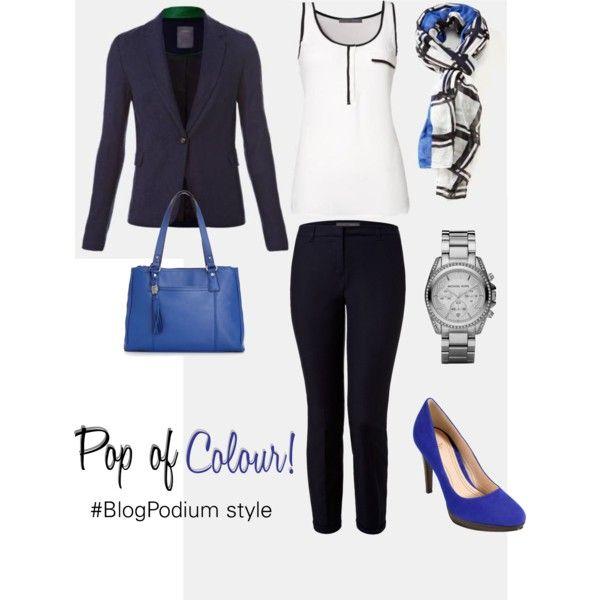 Pop of Colour #BlogPodium style