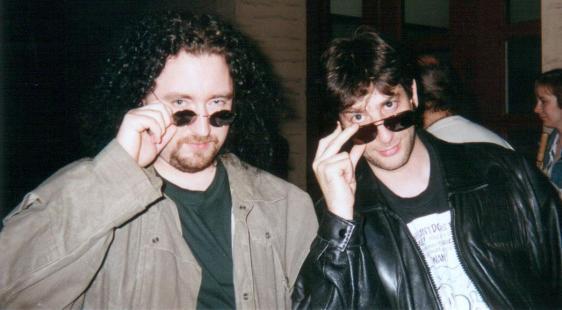 Joe Fulgham & Neil Gaiman, 1996