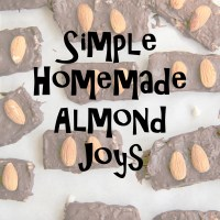 Simple Homemade Almond Joys