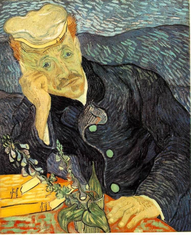"""""""Portrait of Dr Gachet"""" by Vincent Van Gogh"""