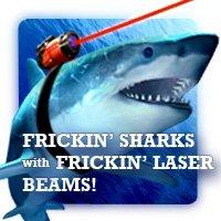 laser shark gun stick