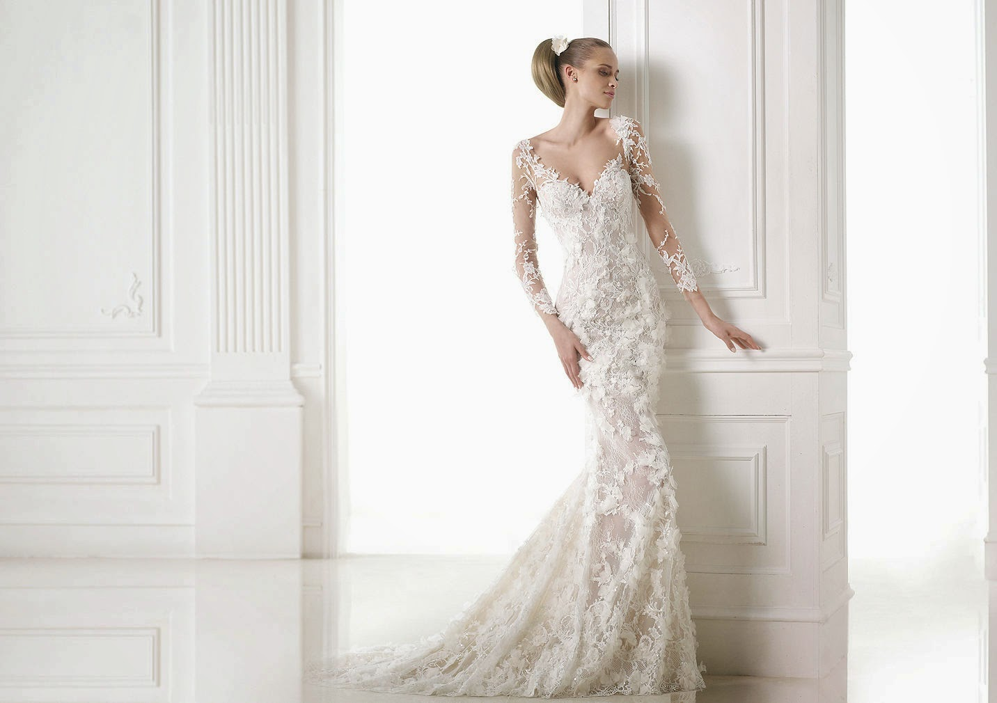 Mermaid Wedding Dresses, Pronovias 2015 Collection