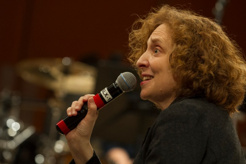 Julia Wolfe explains the pieces in Steel Hammer.