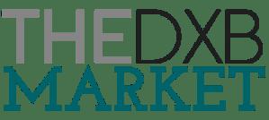 THE DXB MARKET Alternate logo header.