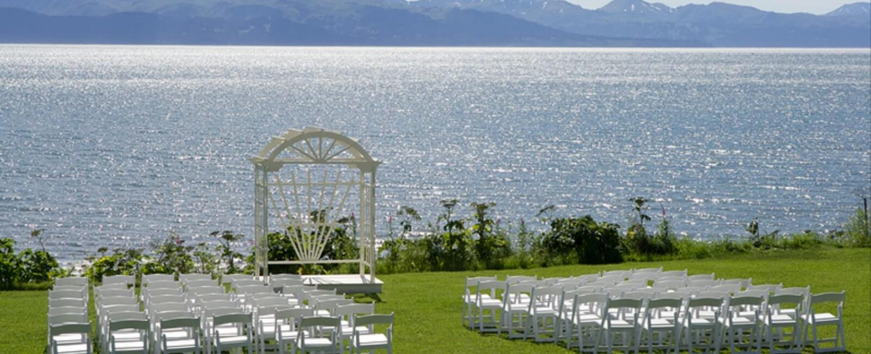 homer alaska wedding venue