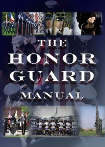 honor guard manual, honor guard training