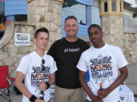 Daytona Nationals 2013 Fans, exhibition drill, regulation drill, color guard, color team, fancy dril