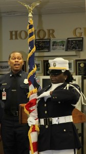 how not to post the colors, Wash. D.C. Dept of Corrections Honor Guard