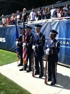 base honor guard, color team, color guard, honor guard training