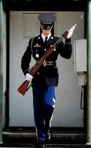 honor guard training, tomb guard