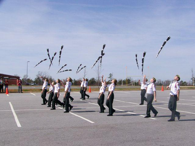 Drill Team Technique