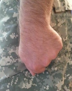 Army and Air Force Hand Style