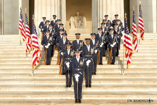 More Than One Flag At a Ceremony | The DrillMaster