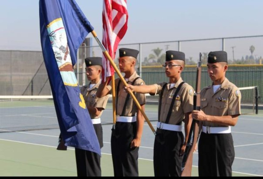 NJROTC Color Guard