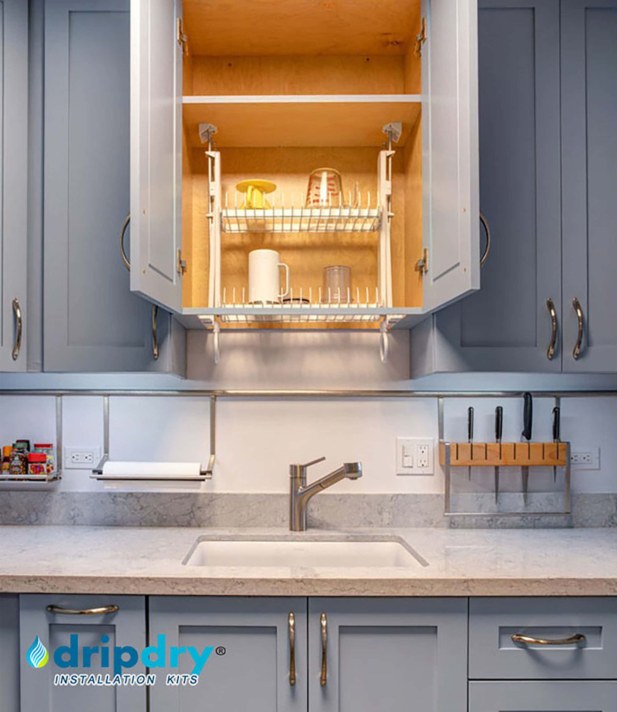 dripdry drying rack fits all cabinets
