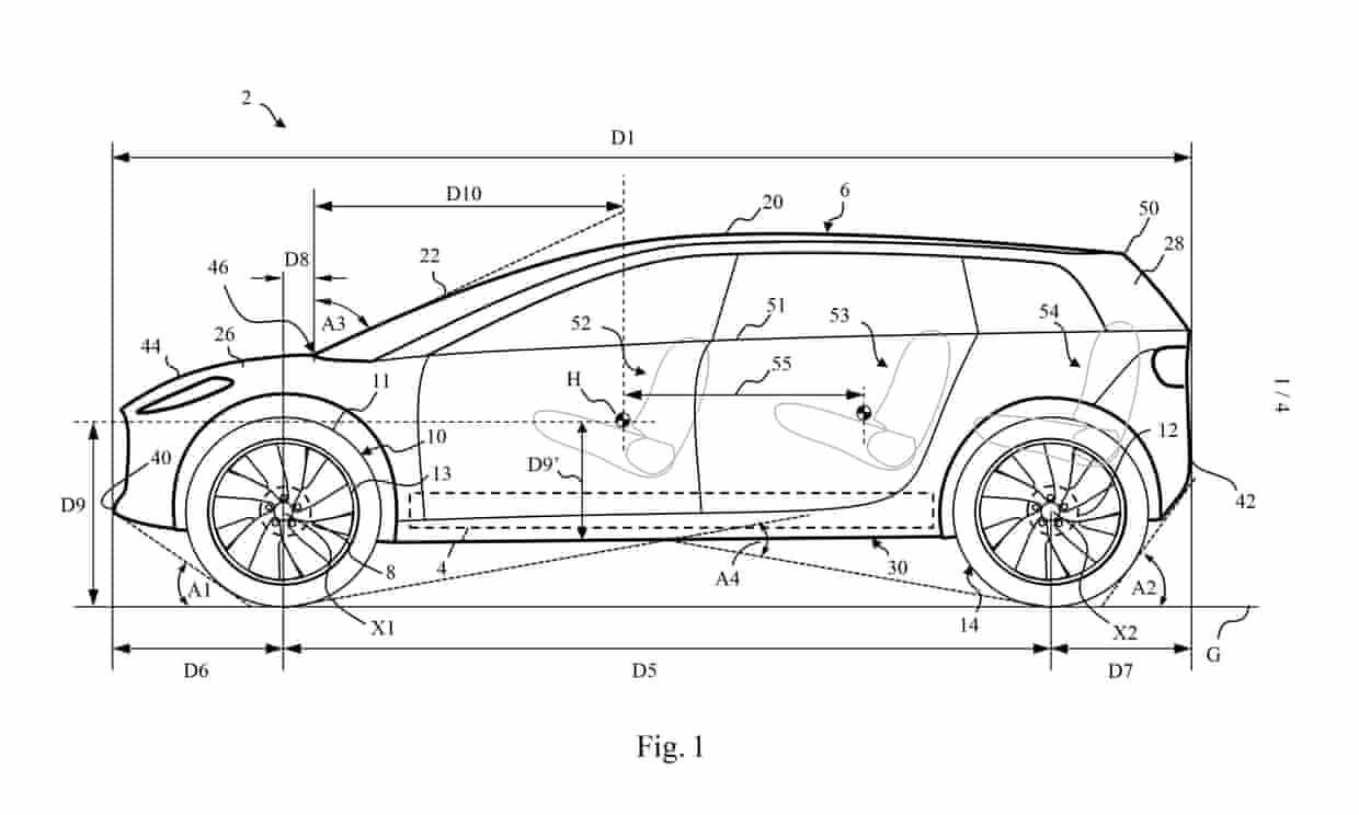 Dyson electric car patent shows off-road design features