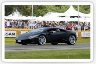Lamborghini Hurracan canvas print poster card the driven blog