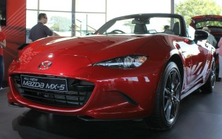 Mazda MX-5 Goodwood Festival of Speed 2015