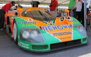 Mazda 787b Le Mans Goodwood Festival of Speed 2015