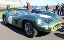Aston Martin DBR1 Goodwood Breakfast Club Soft Top Sunday May 2016
