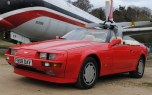 Aston Martin V8 Zagato Volante convertible
