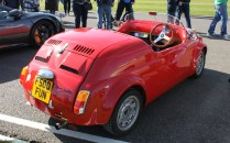 Fiat 500 custom convertible Goodwood Breakfast Club Soft Top Sunday May 2016
