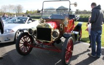 Ford Model T Goodwood Breakfast Club Soft Top Sunday May 2016