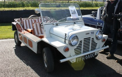 Mini Moke Goodwood Breakfast Club Soft Top Sunday May 2016
